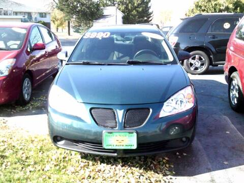 2007 Pontiac G6 for sale at JIMS AUTO MART INC in Milwaukee WI