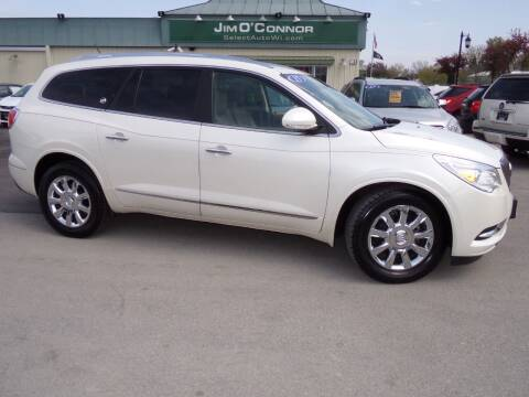 2015 Buick Enclave for sale at Jim O'Connor Select Auto in Oconomowoc WI