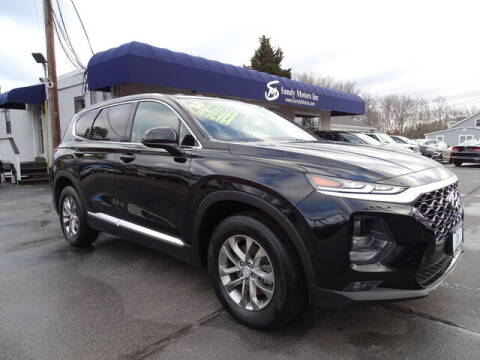 2020 Hyundai Santa Fe for sale at Sandy Motors Inc in Coventry RI