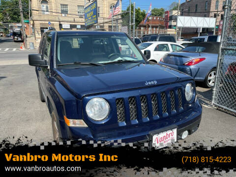 2015 Jeep Patriot for sale at Vanbro Motors Inc in Staten Island NY