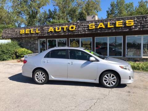 2010 Toyota Corolla for sale at BELL AUTO & TRUCK SALES in Fort Wayne IN