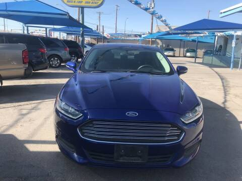 2014 Ford Fusion for sale at Autos Montes in Socorro TX