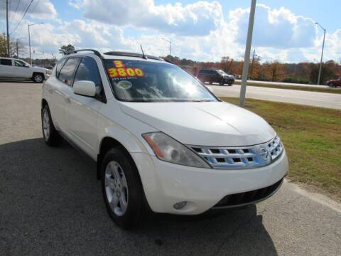 2003 Nissan Murano for sale at Auto Bella Inc. in Clayton NC