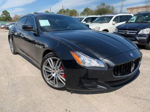 2016 Maserati Quattroporte for sale at KAYALAR MOTORS in Houston TX