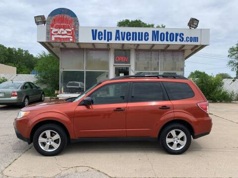 2011 Subaru Forester for sale at Velp Avenue Motors LLC in Green Bay WI