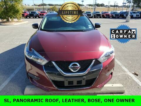 2018 Nissan Maxima for sale at Nissan of Boerne in Boerne TX