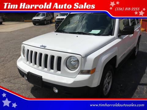 2015 Jeep Patriot for sale at Tim Harrold Auto Sales in Wilkesboro NC