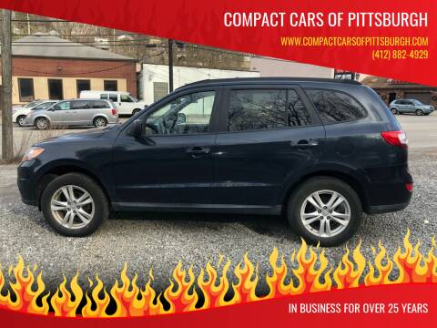 2010 Hyundai Santa Fe for sale at Compact Cars of Pittsburgh in Pittsburgh PA