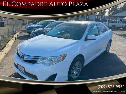 2014 Toyota Camry for sale at El Compadre Auto Plaza in Modesto CA