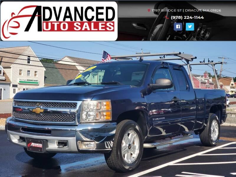 2012 Chevrolet Silverado 1500 for sale at Advanced Auto Sales in Dracut MA