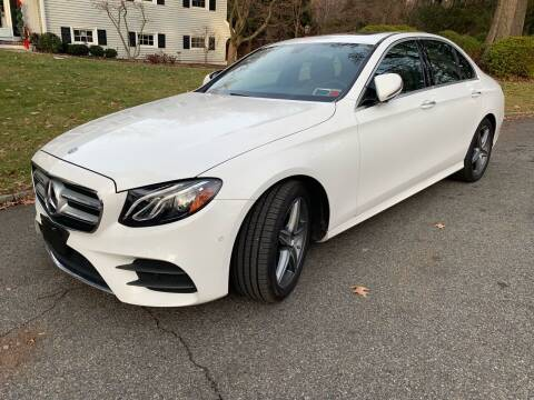 2017 Mercedes-Benz E-Class for sale at M & C AUTO SALES in Roselle NJ