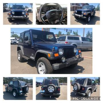 2004 Jeep Wrangler for sale at SIERRA AUTO LLC in Salem OR