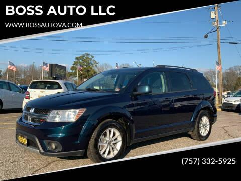 2015 Dodge Journey for sale at BOSS AUTO LLC in Norfolk VA
