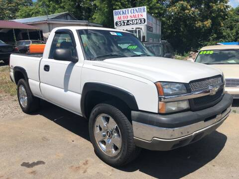 2003 Chevrolet Silverado 1500 for sale at Rocket Center Auto Sales in Mount Carmel TN