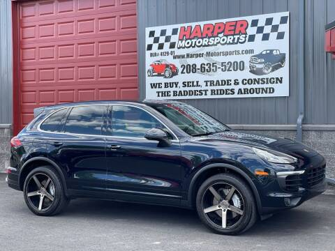 2018 Porsche Cayenne for sale at Harper Motorsports-Powersports in Post Falls ID