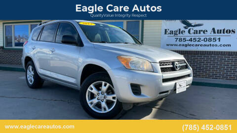 2012 Toyota RAV4 for sale at Eagle Care Autos in Mcpherson KS