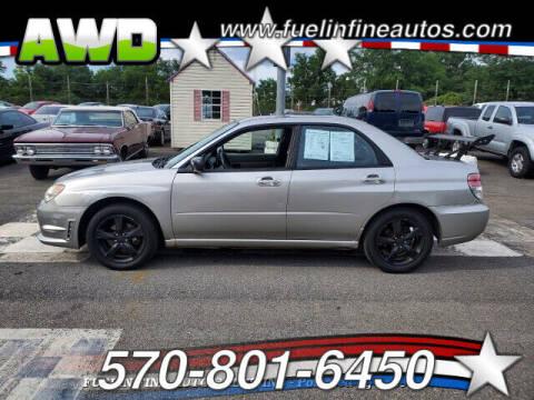 2007 Subaru Impreza for sale at FUELIN FINE AUTO SALES INC in Saylorsburg PA