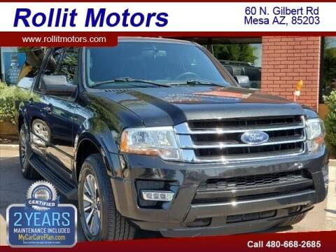 2015 Ford Expedition EL for sale at Rollit Motors in Mesa AZ