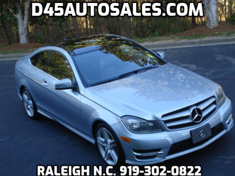 2013 Mercedes-Benz C-Class for sale at D45 Auto Brokers in Raleigh NC