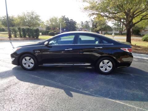2011 Hyundai Sonata Hybrid for sale at BALKCUM AUTO INC in Wilmington NC