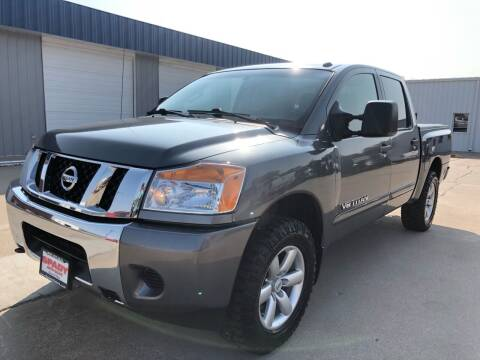 2014 Nissan Titan for sale at Spady Used Cars in Holdrege NE
