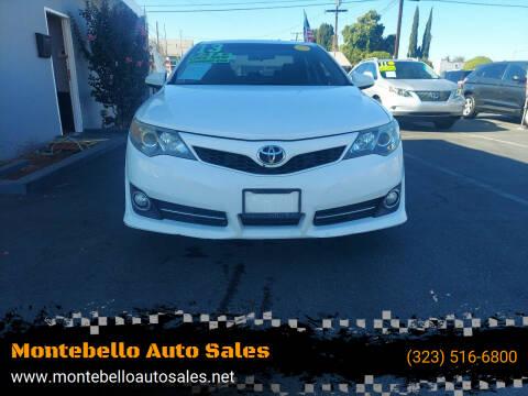 2013 Toyota Camry for sale at Montebello Auto Sales in Montebello CA