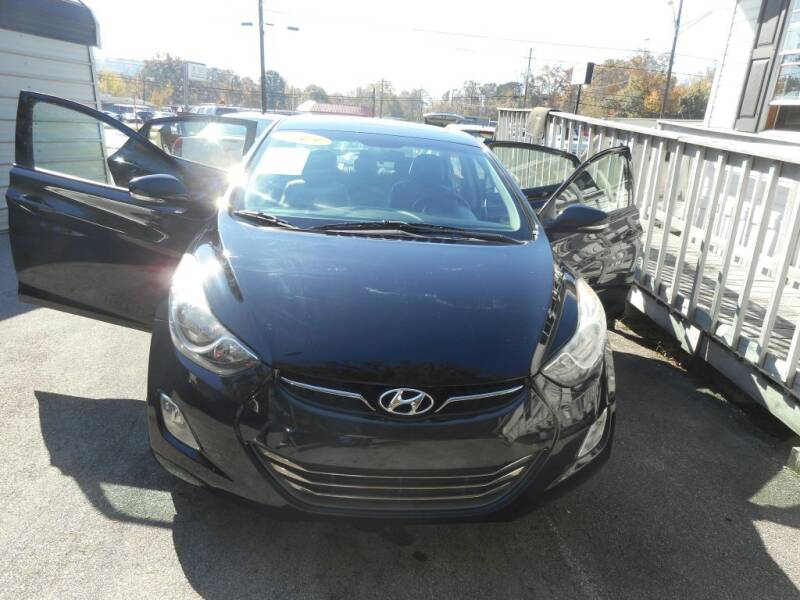 2013 Hyundai Elantra for sale at Elite Motors in Knoxville TN