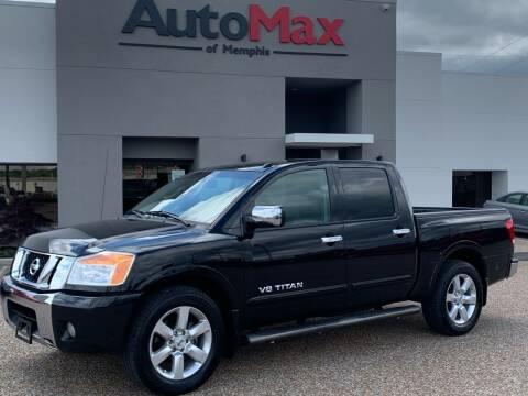 2010 Nissan Titan for sale at AutoMax of Memphis - Ralph Hawkins in Memphis TN