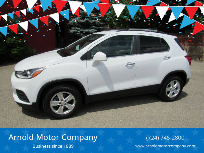 2018 Chevrolet Trax for sale at Arnold Motor Company in Houston PA