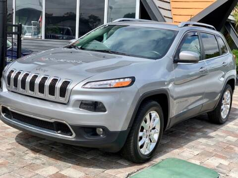 2016 Jeep Cherokee for sale at Unique Motors of Tampa in Tampa FL