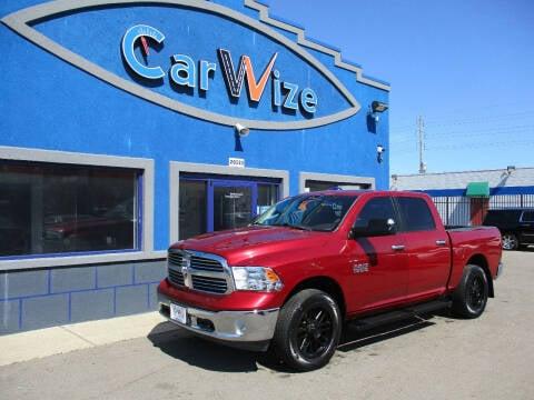 2013 RAM Ram Pickup 1500 for sale at Carwize in Detroit MI