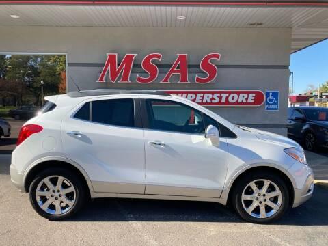 2014 Buick Encore for sale at MSAS AUTO SALES in Grand Island NE