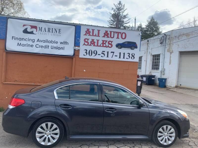 2011 Subaru Legacy for sale at Ali Auto Sales in Moline IL