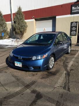 2010 Honda Civic for sale at Specialty Auto Wholesalers Inc in Eden Prairie MN