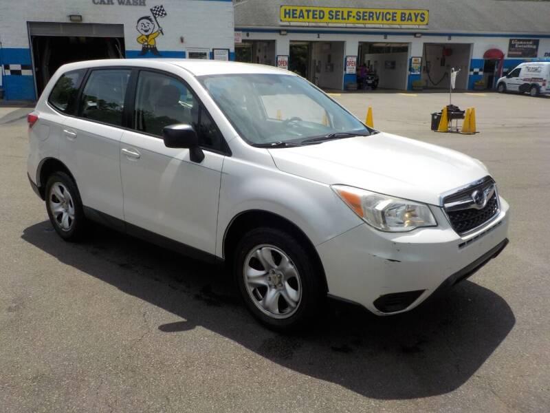 2014 Subaru Forester for sale at RTE 123 Village Auto Sales Inc. in Attleboro MA