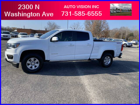 2018 Chevrolet Colorado for sale at Auto Vision Inc. in Brownsville TN