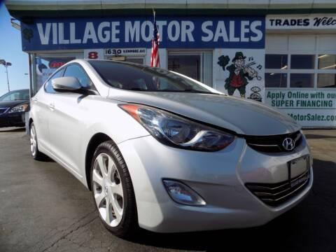 2012 Hyundai Elantra for sale at Village Motor Sales in Buffalo NY