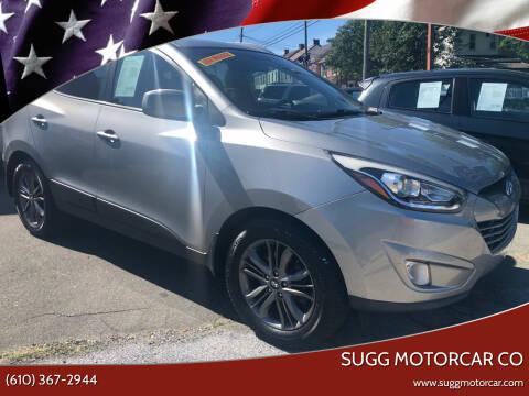 2014 Hyundai Tucson for sale at Sugg Motorcar Co in Boyertown PA