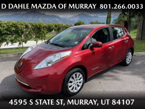 2015 Nissan LEAF for sale at D DAHLE MAZDA OF MURRAY in Salt Lake City UT