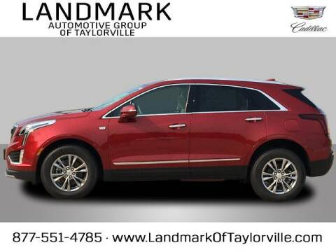2021 Cadillac XT5 for sale at LANDMARK OF TAYLORVILLE in Taylorville IL