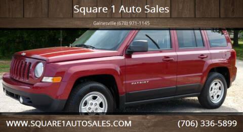 2013 Jeep Patriot for sale at Square 1 Auto Sales - Commerce in Commerce GA