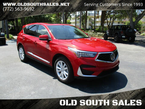 2019 Acura RDX for sale at OLD SOUTH SALES in Vero Beach FL