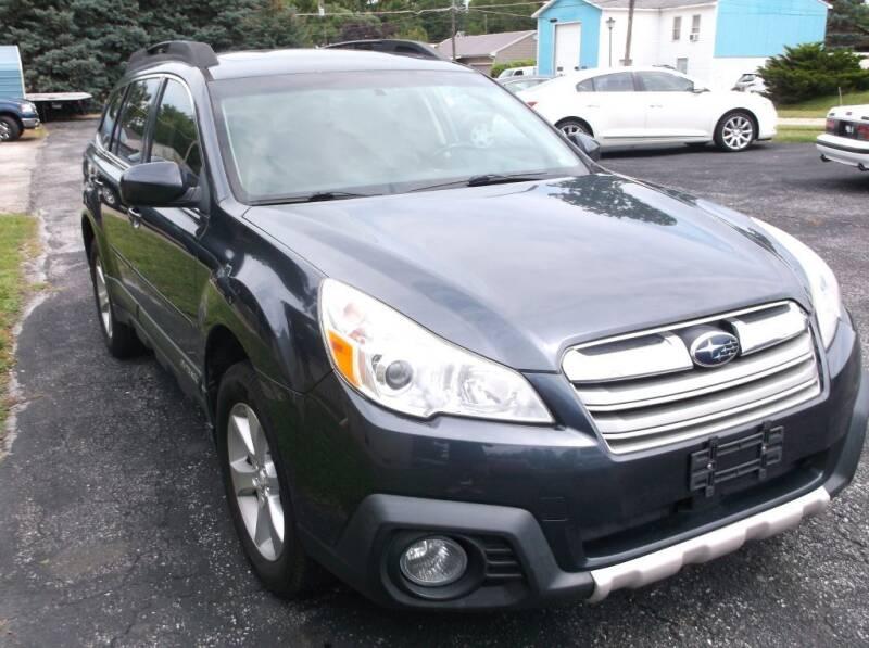 2013 Subaru Outback for sale at Straight Line Motors LLC in Fort Wayne IN