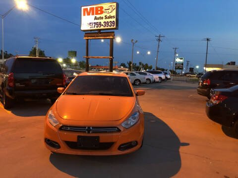 2013 Dodge Dart for sale at MB Auto Sales in Oklahoma City OK