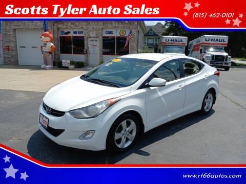 2013 Hyundai Elantra for sale at Scotts Tyler Auto Sales in Wilmington IL