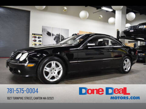 2004 Mercedes-Benz CL-Class for sale at DONE DEAL MOTORS in Canton MA