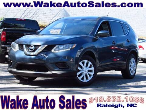 2016 Nissan Rogue for sale at Wake Auto Sales Inc in Raleigh NC