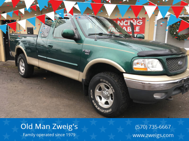 2000 Ford F-150 for sale at Old Man Zweig's in Plymouth Township PA