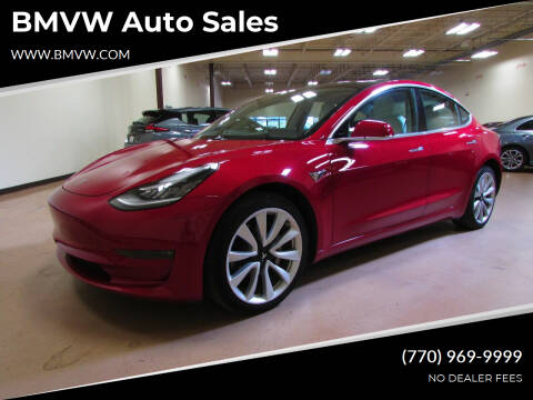 2018 Tesla Model 3 for sale at BMVW Auto Sales in Union City GA