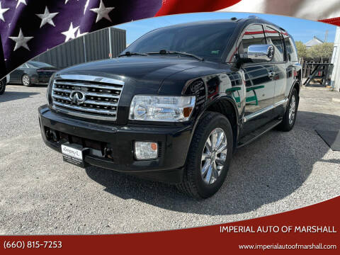 2009 Infiniti QX56 for sale at Imperial Auto of Marshall in Marshall MO